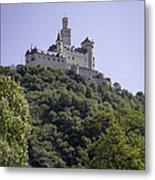 Marksburg Castle 14 Metal Print