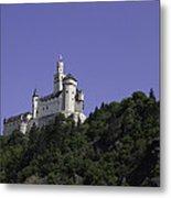 Marksburg Castle 25 Metal Print