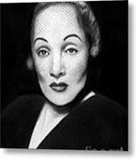 Marlene Dietrich Metal Print by Peter Piatt
