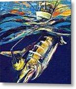 Marlin Catch Metal Print
