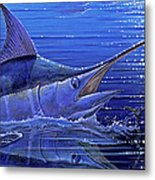Marlin Mirror Off0022 Metal Print