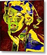 marlyn goes to Venice  Metal Print