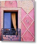 Marrakesh Balcony Metal Print