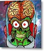 Mars Attacks Metal Print by Gary Niles