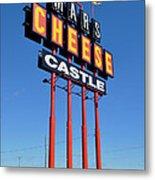 Mars Cheese Castle Metal Print