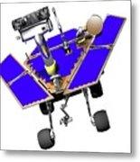 Mars Exploration Rover Metal Print