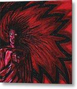 Mars Rising Metal Print