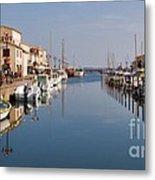 Marseillan Harbour Metal Print