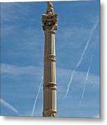 Marseilles Monument Metal Print