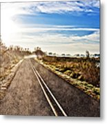 Marsh Road Metal Print