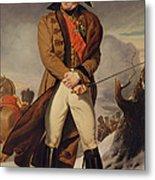 Marshal Michel Ney 1769-1815 Duke Of Elchingen Oil On Canvas Metal Print