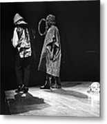 Marshall And Sonny 1968 Metal Print