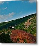 Marshall Mansion Hill Metal Print