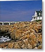 Marshall Point Lighthouse Complex Metal Print
