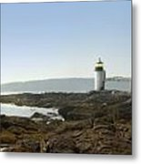 Marshall Point Lighthouse - Panoramic Metal Print