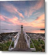 Marshall Point Sunset Metal Print