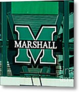 Marshall University Metal Print