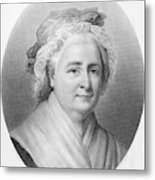 Martha Washington (1732-1802) Metal Print