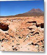 Martian Landscapes On Earth Metal Print