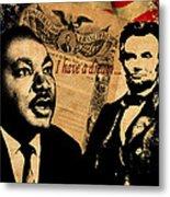Martin Luther King Jr 2 Metal Print