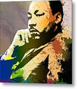 Martin Luther King Jr.  Metal Print