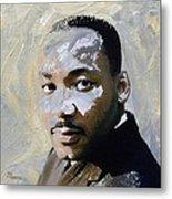 Martin Luther King Metal Print