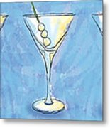 Martini Lunch Metal Print