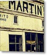 Martins General Store Metal Print
