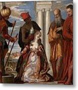 Martyrdom Of Saint Justina Metal Print