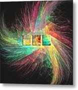 Marucii 237-03-13 Abstraction Metal Print