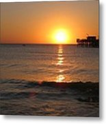 Marvelous Gulfcoast Sunset Metal Print