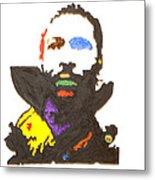 Marvin Gaye Metal Print