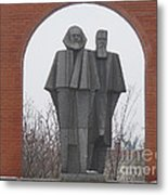 Marx And Engels Metal Print