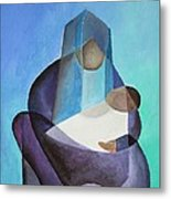 Mary And Messiah Metal Print