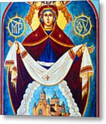Mary And The Holy Church Metal Print