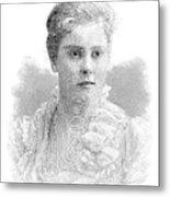 Mary Crowninshield Endicott Chamberlain Metal Print