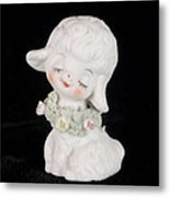 Mary Had A Little Lamb Metal Print