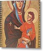 Mary Help Of The Romans Metal Print by Joseph Malham