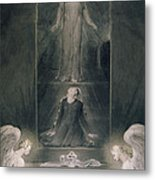 Mary Magdalene At The Sepulchre Metal Print