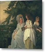 Mary Margaret Wood And Two Metal Print