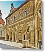 Mary Of Bistrica Shrine Architecture  Metal Print