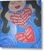 Mary Our Mother Metal Print