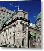 Mary Queen Of The World Cathedral Montreal Metal Print