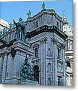 Mary Queen Of The World Cathedral - Side View In Hdr Metal Print