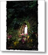 Mary Virgin And Mother Reconciler Of All People And Nations Of Betania Metal Print