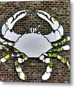 Maryland Country Roads - Camo Crabby 1a Metal Print