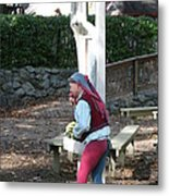 Maryland Renaissance Festival - A Fool Named O - 12121 Metal Print by DC Photographer