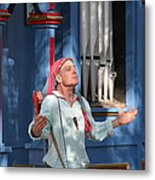 Maryland Renaissance Festival - A Fool Named O - 121220 Metal Print by DC Photographer