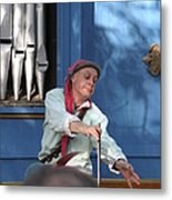 Maryland Renaissance Festival - A Fool Named O - 12129 Metal Print by DC Photographer