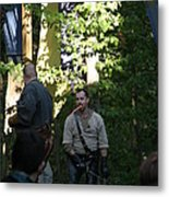 Maryland Renaissance Festival - Hack And Slash - 12121 Metal Print by DC Photographer